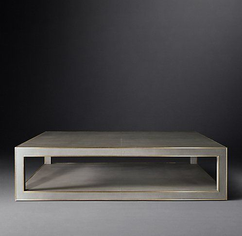 All Shagreen Tables RH Modern BK Townhouse Pinterest Tables - Rh modern coffee table