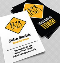 Handyman business card project r pinterest business cards handyman business card reheart Choice Image
