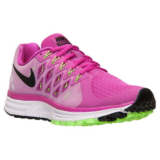Women's Nike Zoom Vomero 9 Running Shoes | Finish Line | Fuchsia Flash/Black /