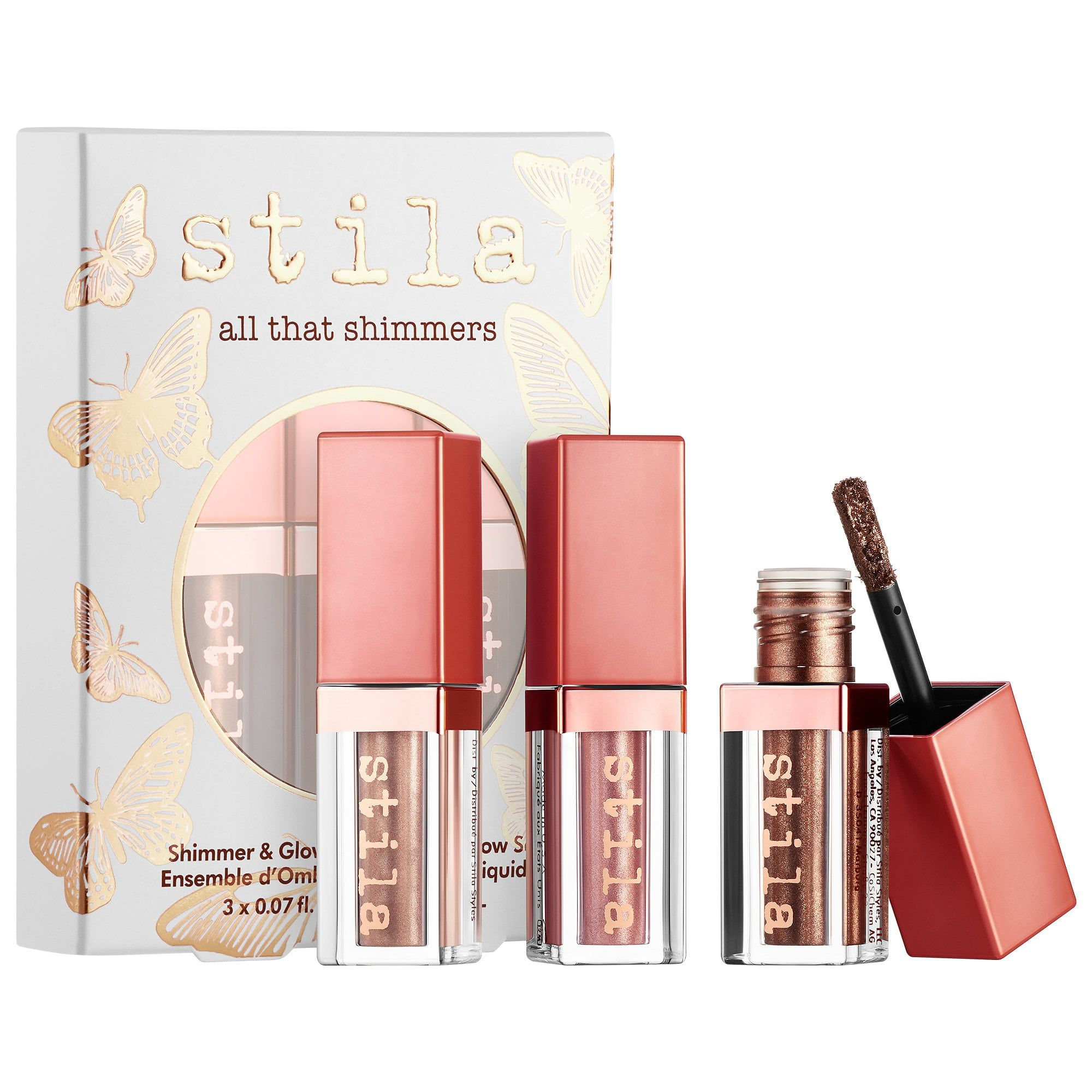 Stila All That Shimmers & Glow Liquid Eye Shadow Set