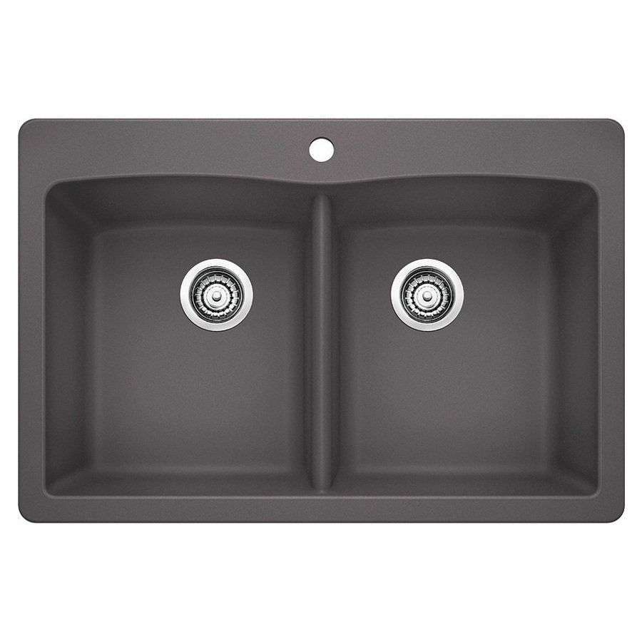BLANCO Diamond Drop In Or Undermount Silgranit Kitchen Sink | Loweu0027s Canada