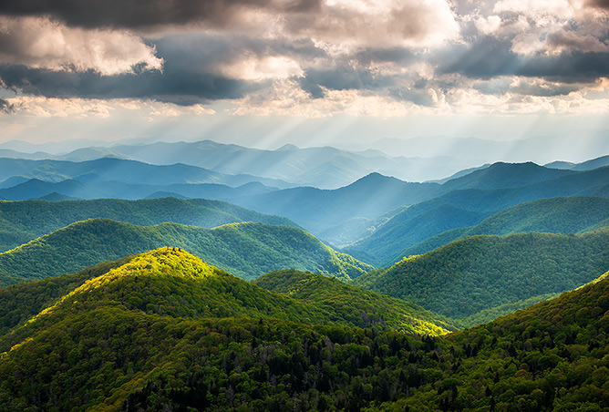 Blue Ridge Landscapes and Waterfalls Gallery 5 by Dave Allen Photography
