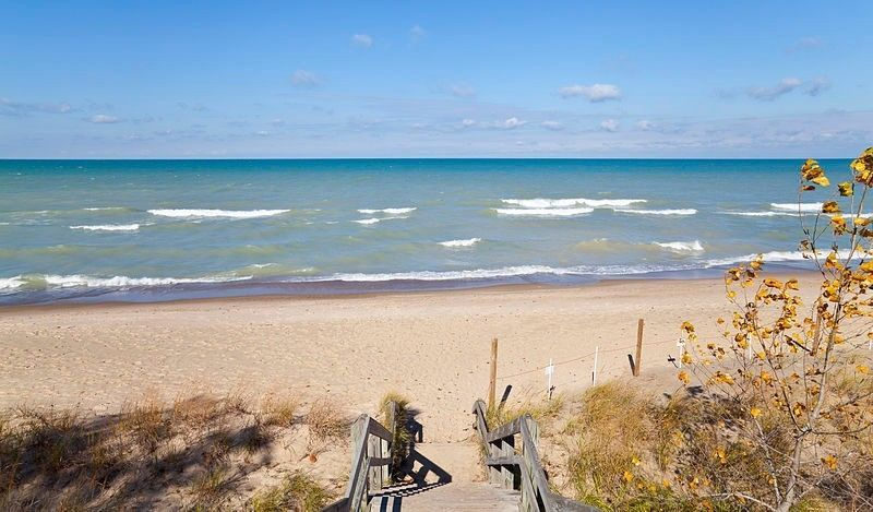 Indiana Dunes Shore
