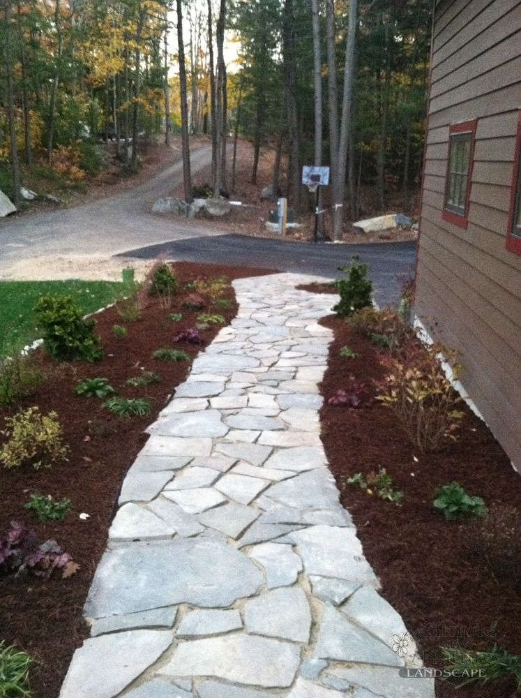 Sidewalk Design Ideas walk this way for a grand entrance a variety of pattern options and colors from paver walkwaywalkway ideasfront Flagstone Walkway