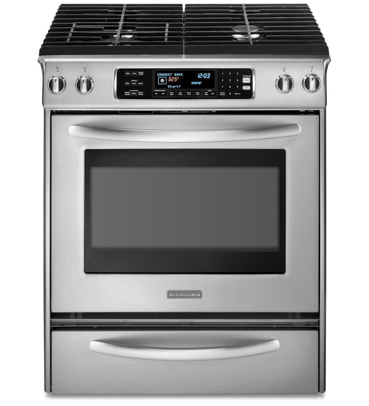Perfect KitchenAid® 30 Inch 4 Burner Dual Fuel Slide In Range, Architect®