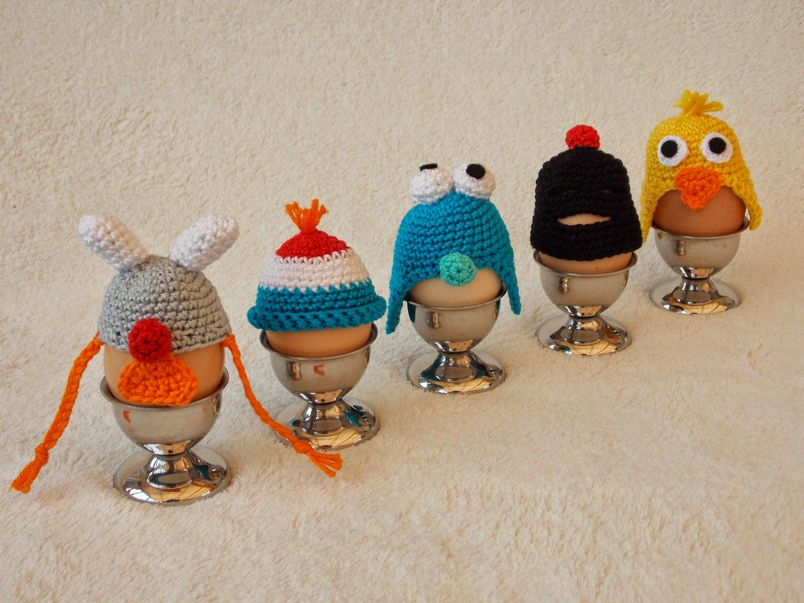 Haken Gratis Patroon Eierwarmers Crochet Free Pattern Dutch