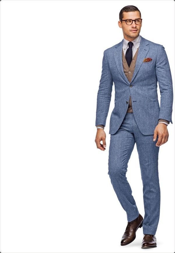 100 Best Blue Men\'s Suits Combinations to Look More Gorgeous | Man ...