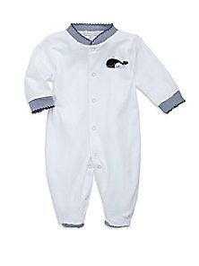 Royal Baby - Infant's Whale-Motif Footie/Blue - Saks Fifth Avenue Mobile
