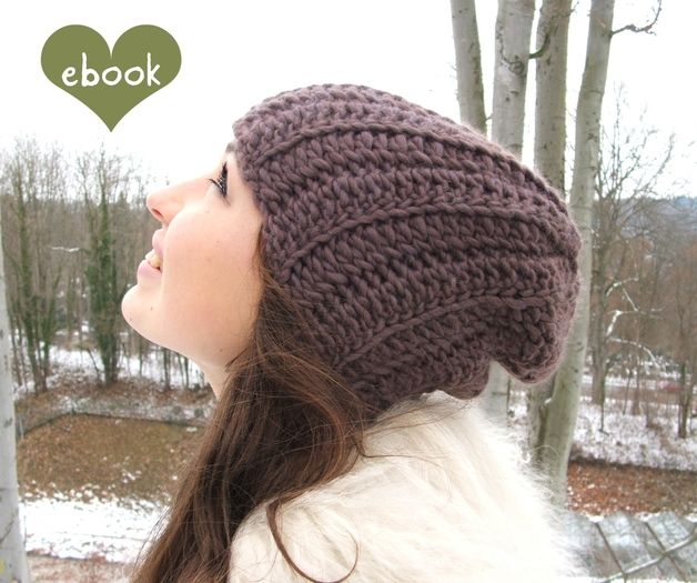 ebook ❤ Häkelanleitung #60 ❤ Beanie Mütze Hazelnut | Crochet ...