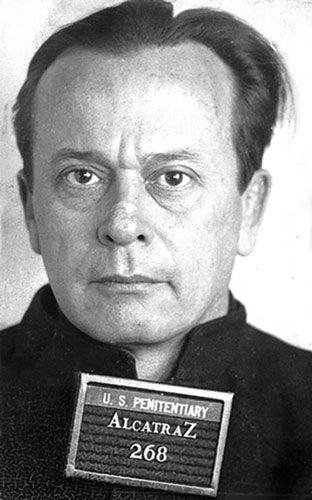 Arthur Doc Barker. Barker Karpis Gang member.