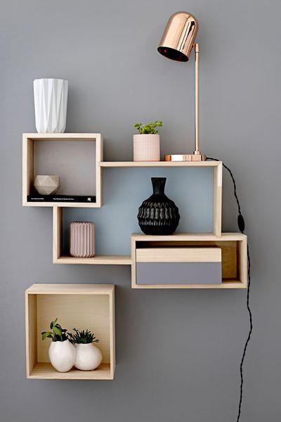 Etagère en bois, à partir de 129 euros, Bloomingville Shelves