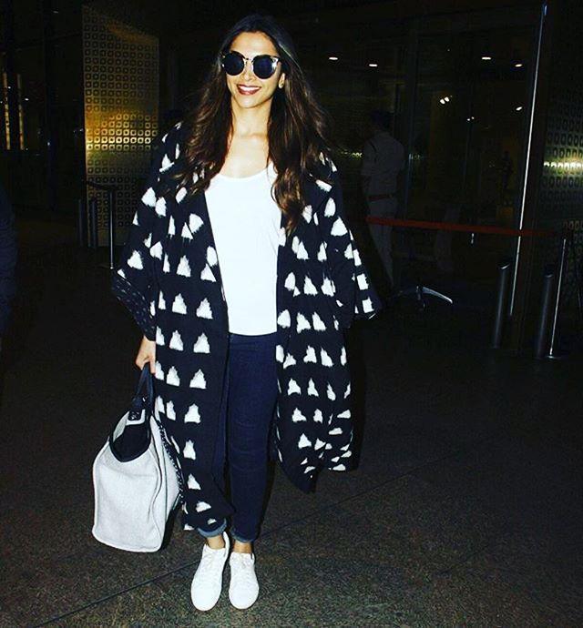 @deepikapadukone slaying our ikhat kimono jacket #fashion ...