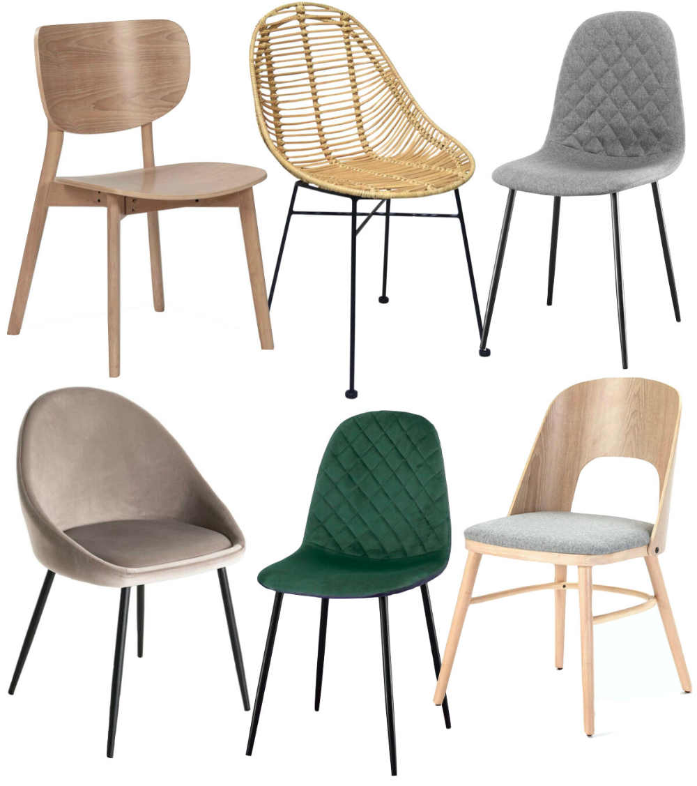 Comment assortir les chaises dépareillées autour d'une table