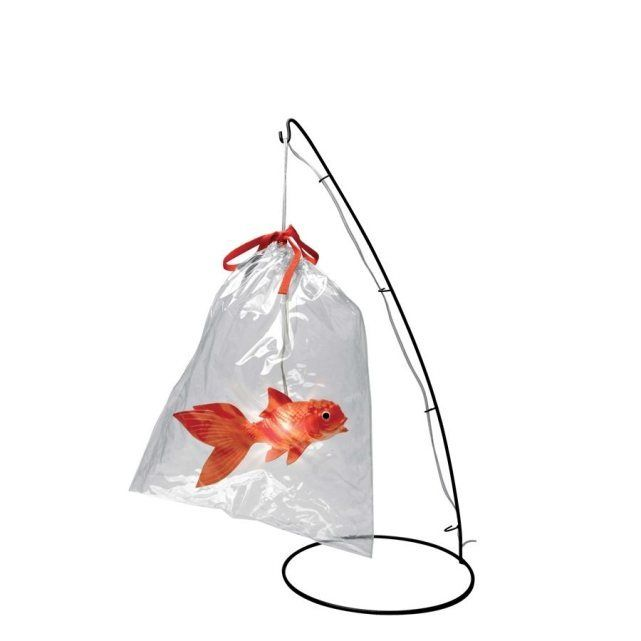 Lampe Poisson Rouge