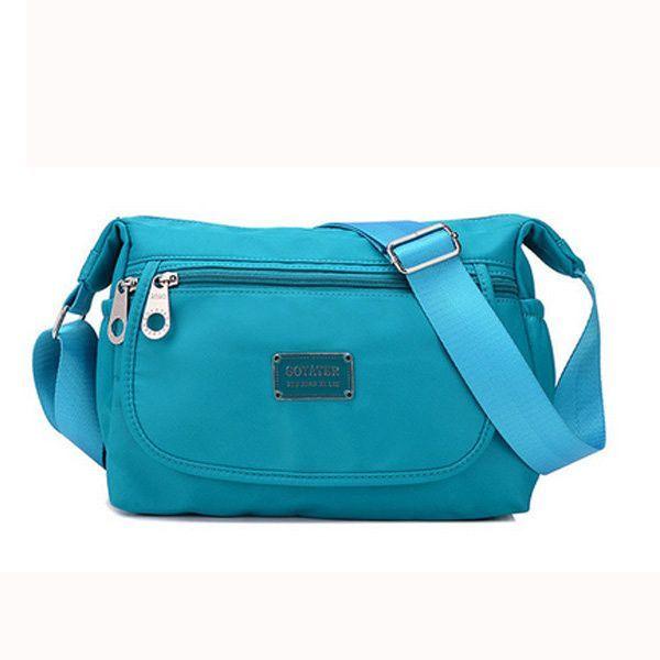 Women Shoulder Bag Nylon Waterproof Leisure Crossbody Bag
