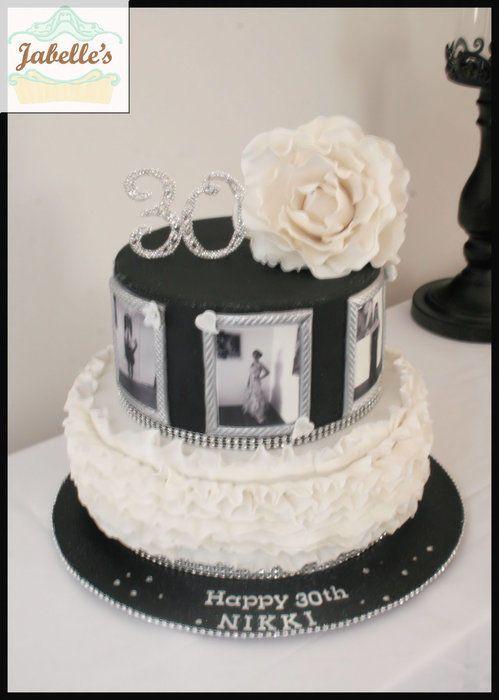 Picture Frame Cake Inspiring Ideas Cake 30 Birthday