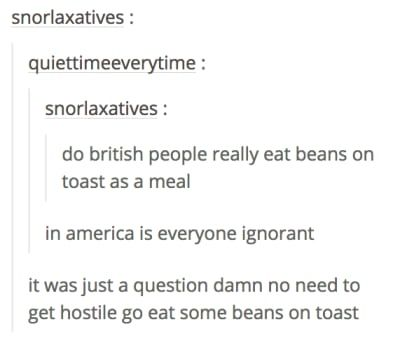 19 Times America And Britain Went Head To Head On Tumblr