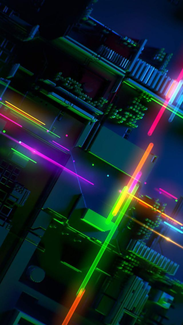 Razer Phone 2 Abstract Colorful Hd Vertical Professeurs De