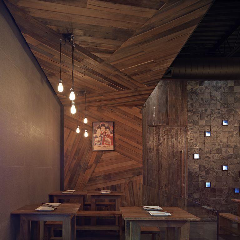 cool inspiration wood interior walls. Guu Izakaya Restaurant Interior  By Dialogue 38 HouseVariety http zeospot com wp content uploads 2011 02 wooden