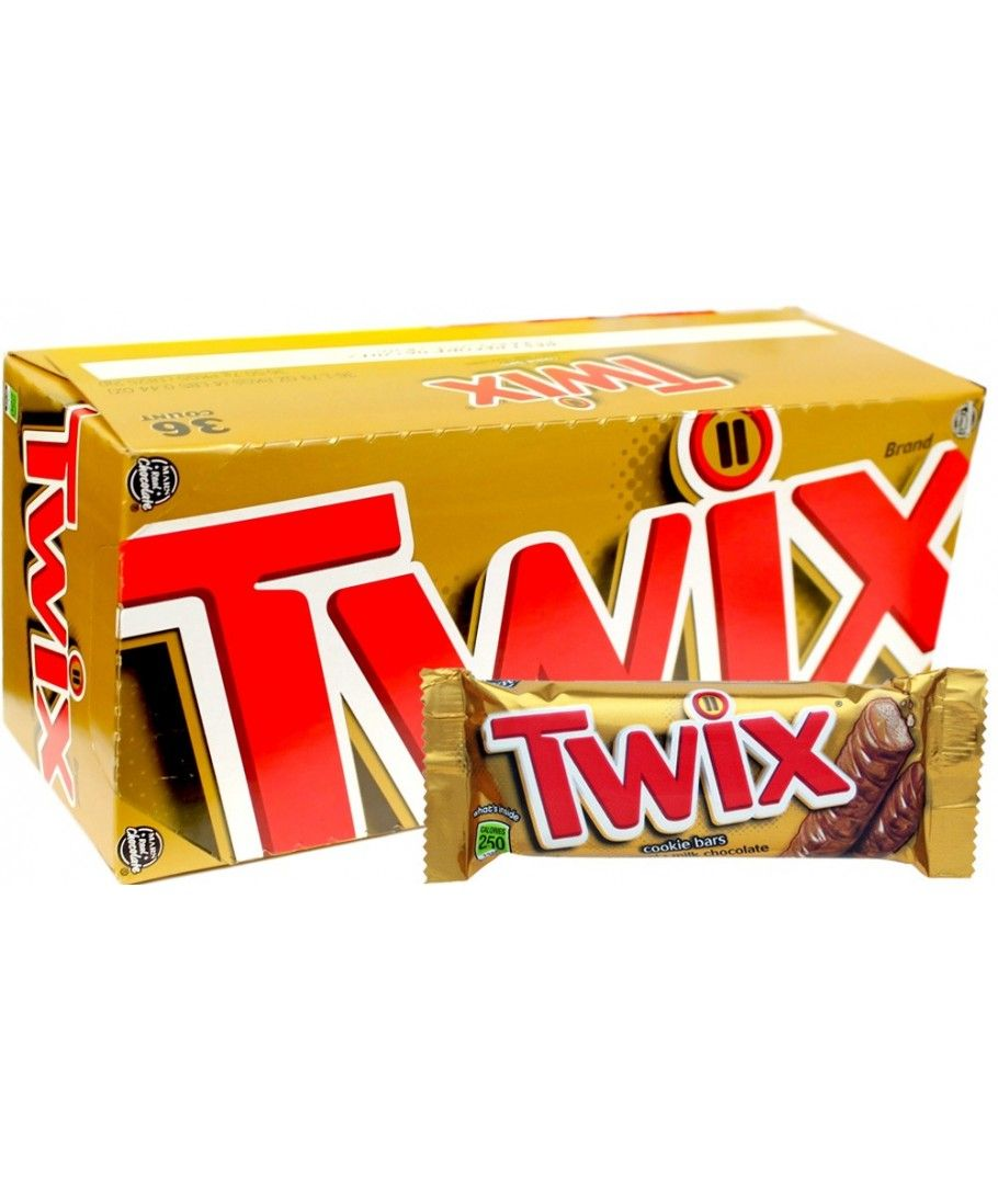 Twix 36 ct caramel twix chocolate caramel cookies