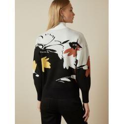 Photo of Pullover Mit Stehkragen Und Savanna-Print Ted Baker