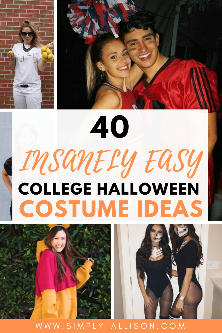 40 Easy Last Minute Costume Ideas for College Students