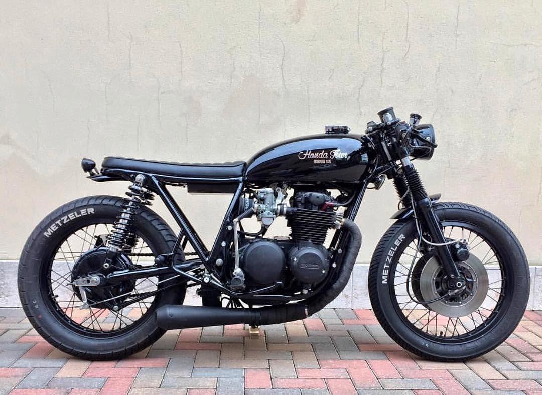 Ending Soon - 1975 Honda CB500T Cafe Racer - Bike-urious