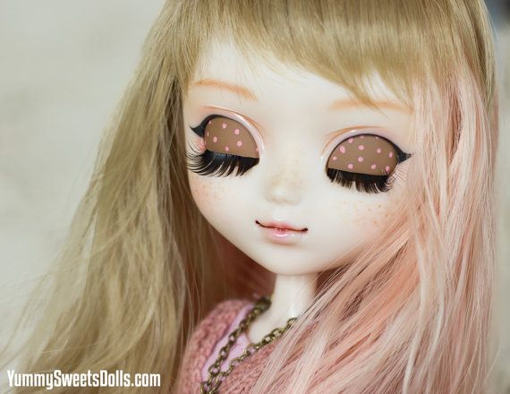 OOAK Hello Panda Strawberry Full Custom Pullip by YummySweetsDolls