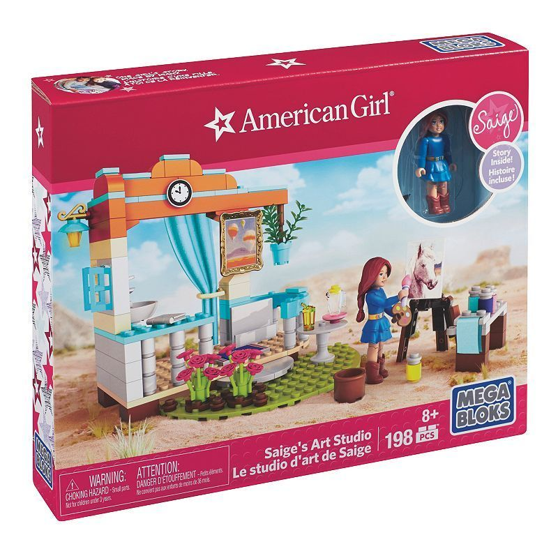 Mega Bloks American Girl Saige's Art Studio Set, Multicolor