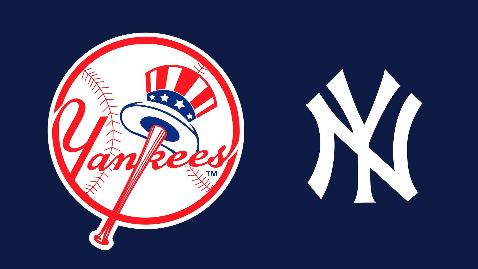 MLB New York Yankees Logo 1920x1080 wallpaper New york