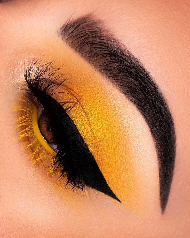 Eyeshadow- - Dress Models -  Eyeshadow Looks Yellow Eyeshadow- – Yellow Eyeshado -Yellow Eyeshado