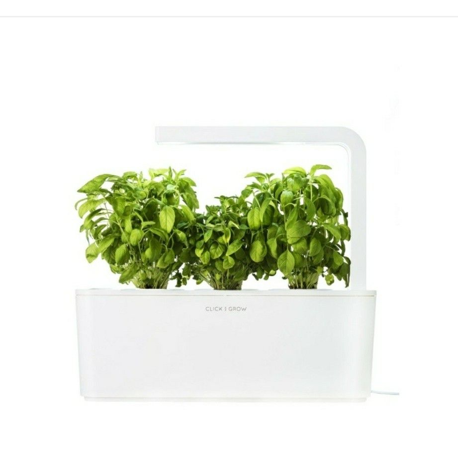 Smart Herb Garden Indoor Grow Kit By Click Interiordesign Home Styyl Styylhq Now 60 Www Co Products Pid 15