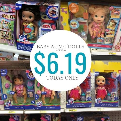 Black Friday Baby Alive Doll Deals & Cyber Monday Sales ...