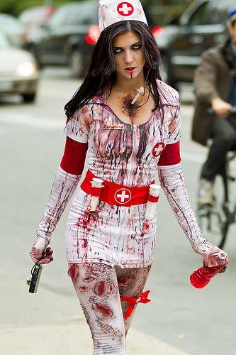 Sexy Zombie Nurse from the Toronto Zombie Walk 2010 4ada5b1e5005d