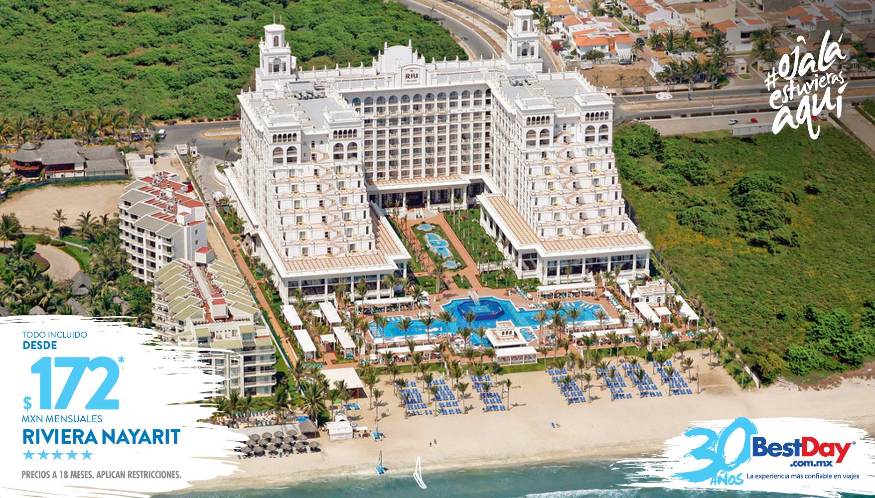 Ubicado Junto A Sus Dos Hoteles Hermanos Riu Jalisco Y Riu Vallarta Frente A Playa Flamingos Esta Propiedad Ofrece Hotel Riu Palace Nuevo Vallarta Hotel Riu