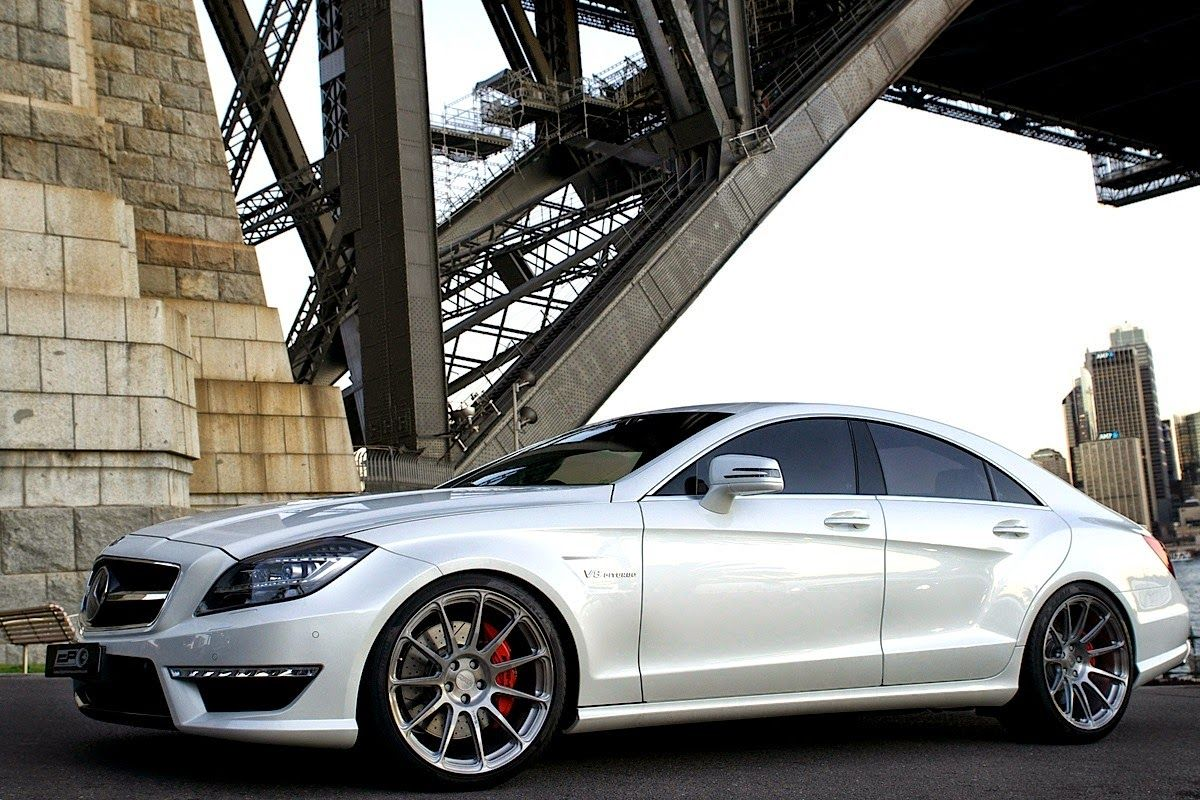 Mercedes benz c218 cls63 amg on hre perfomance wheels