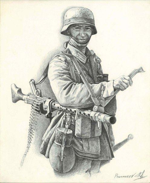 Картинки советских солдат 1941-1945 для срисовки, каждый месяц