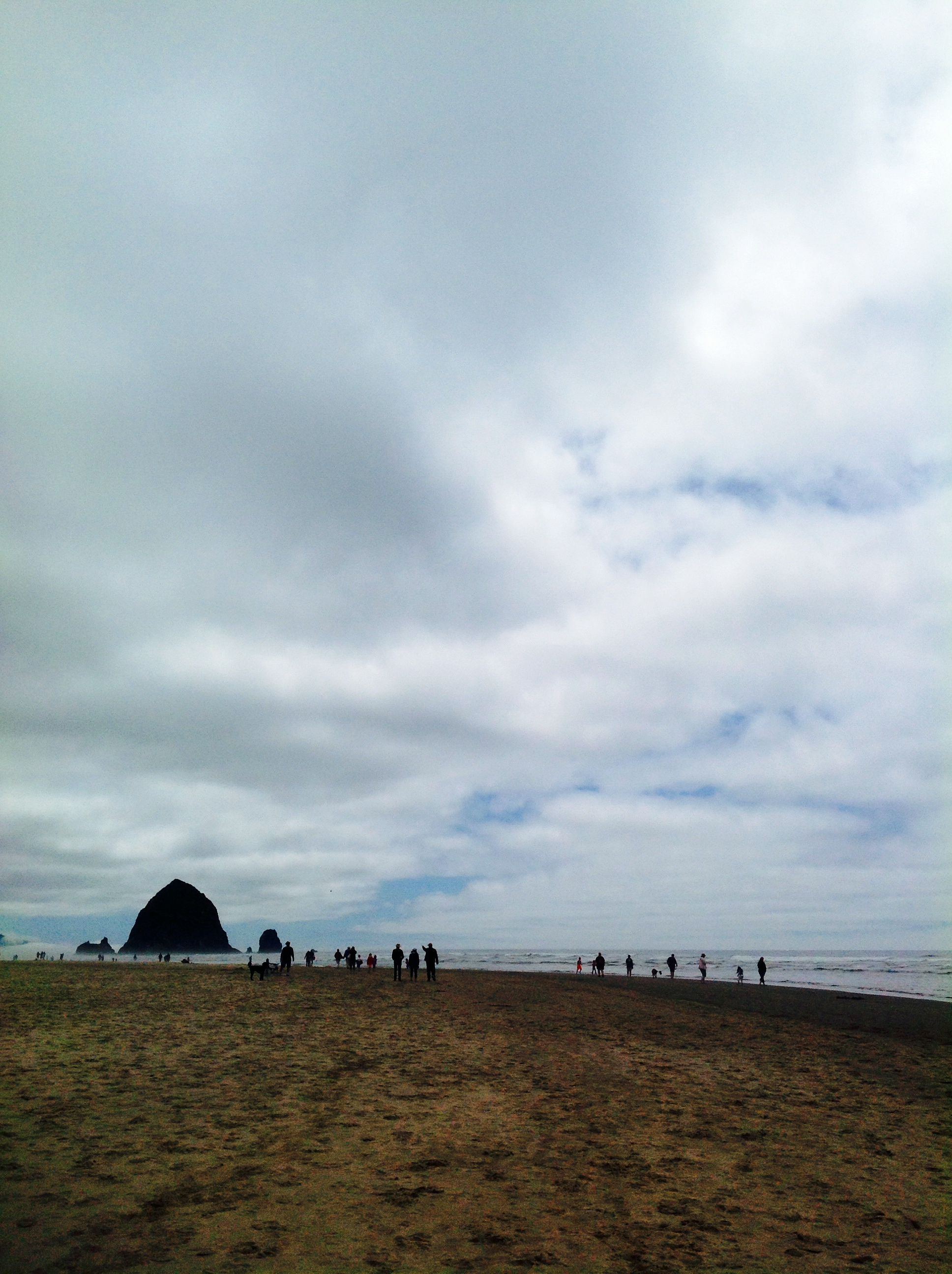 Haystack Rock in Cannon Beach, OR