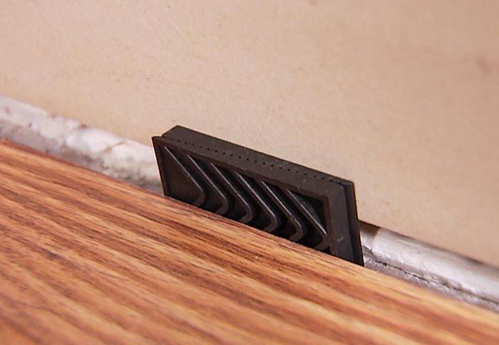 Installing Laminate Flooring, What Can I Use For Spacers For Laminate Flooring