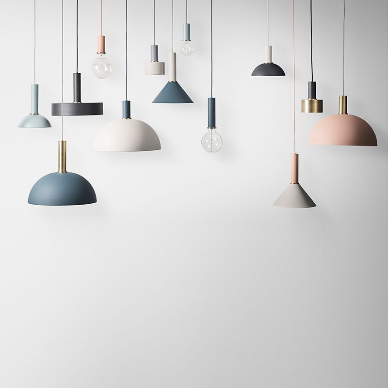 Scandinavian Style Embraces Fall Colors Pendant Light Ceiling Pendant Lights Iron Pendant Light