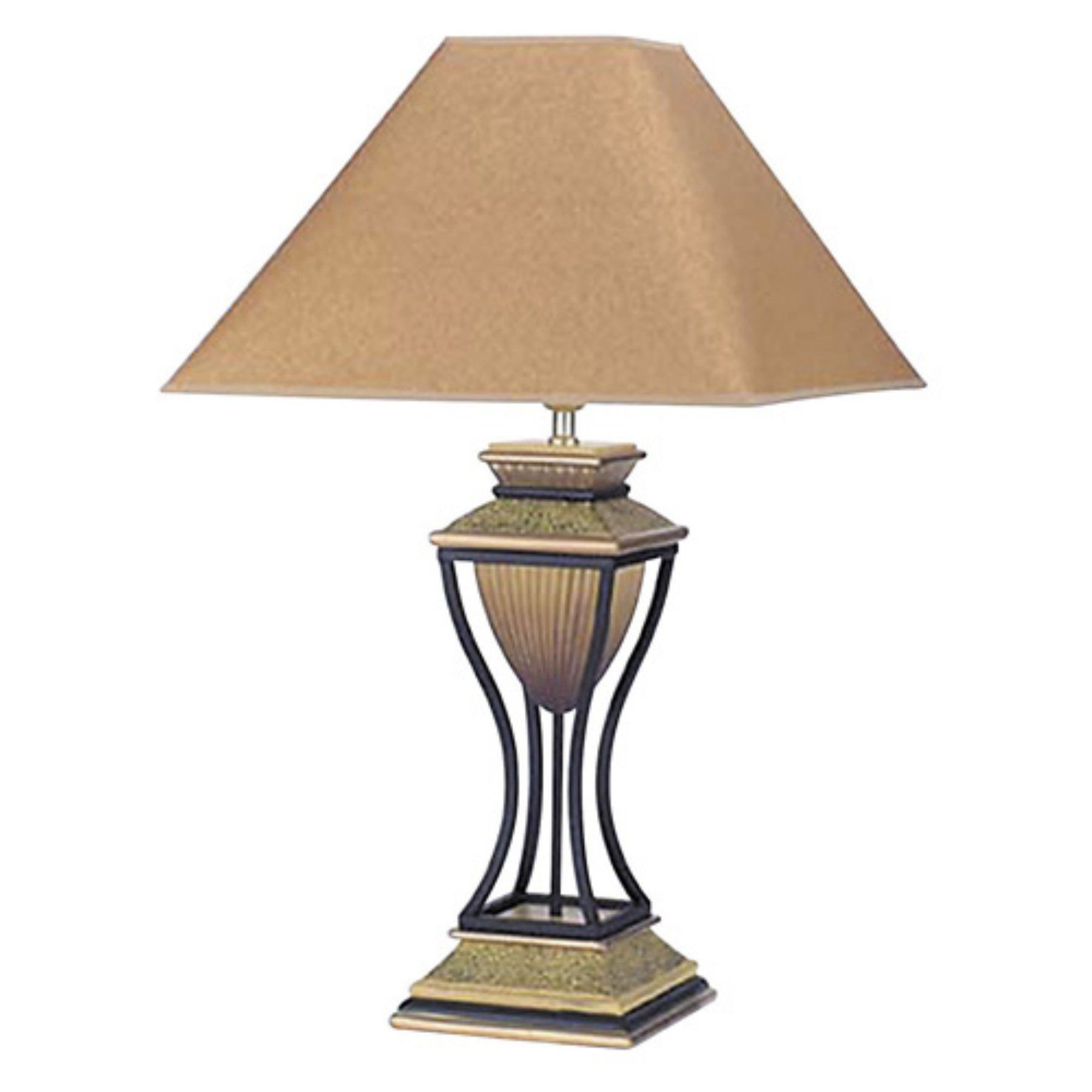 Ore International 8008 Home Deco Table Lamp - Antique Bronze - 8008