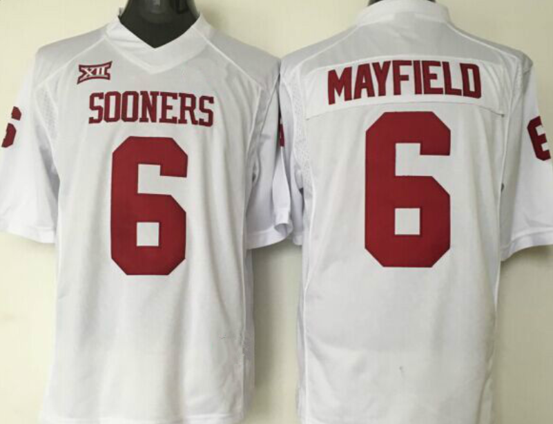 new concept 5c9dc 549df Oklahoma Sooners #6 Baker Mayfield Jersey | fashion | Baker ...