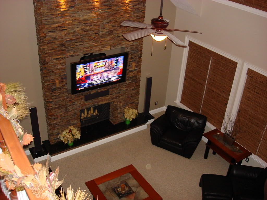 hearth and style of stone (just lighter) Painting trim