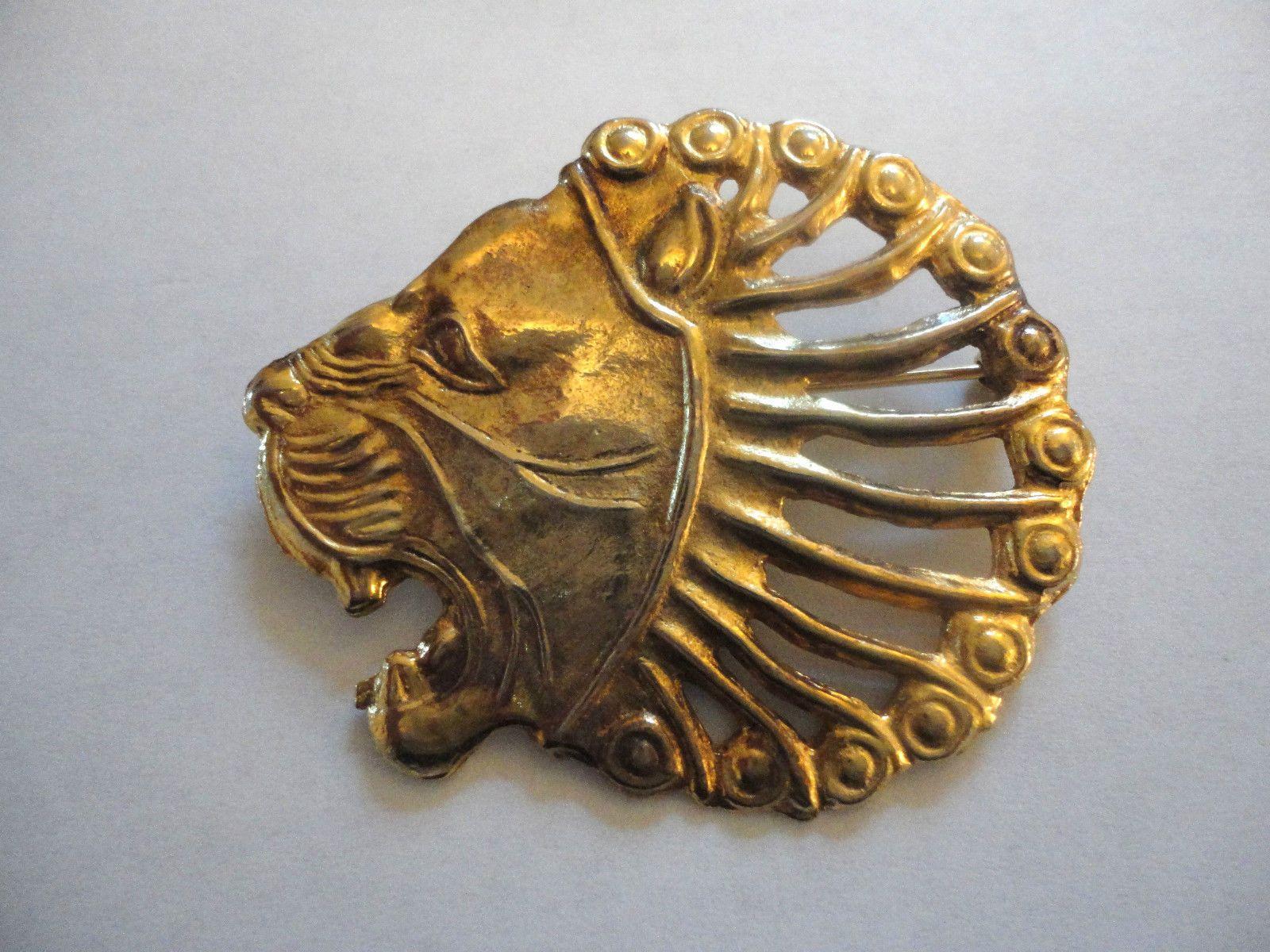 Vintage Mma Metropolitan Museum Of Art Persian Lion Head