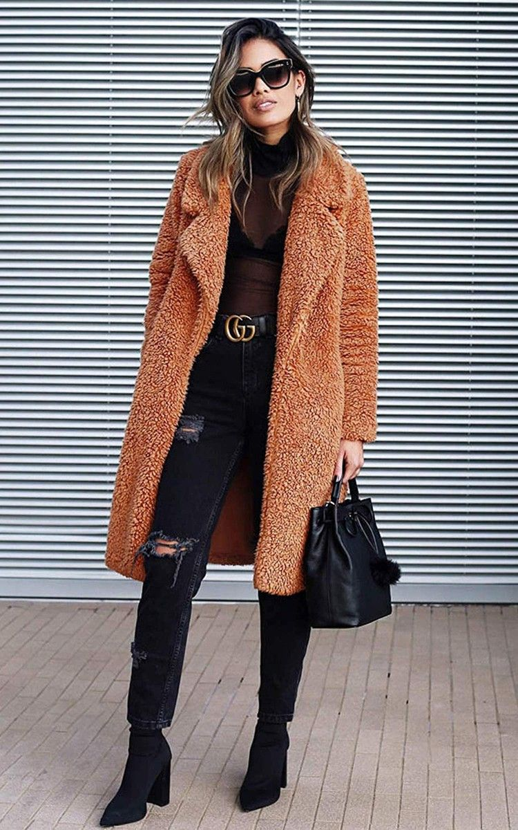 The 13 Coziest And Cutest Coats On Amazon Will Get You So Excited For November Popsugar Long Cardigan Coat Fall Fashion Coats Coats For Women [ 1200 x 750 Pixel ]