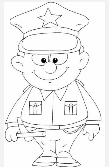 Policeman Cars Coloring Pages Coloring Pages Coloring Pages For Kids