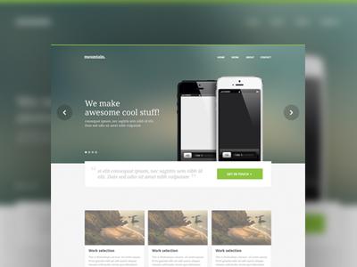 Homepage Design Part 35