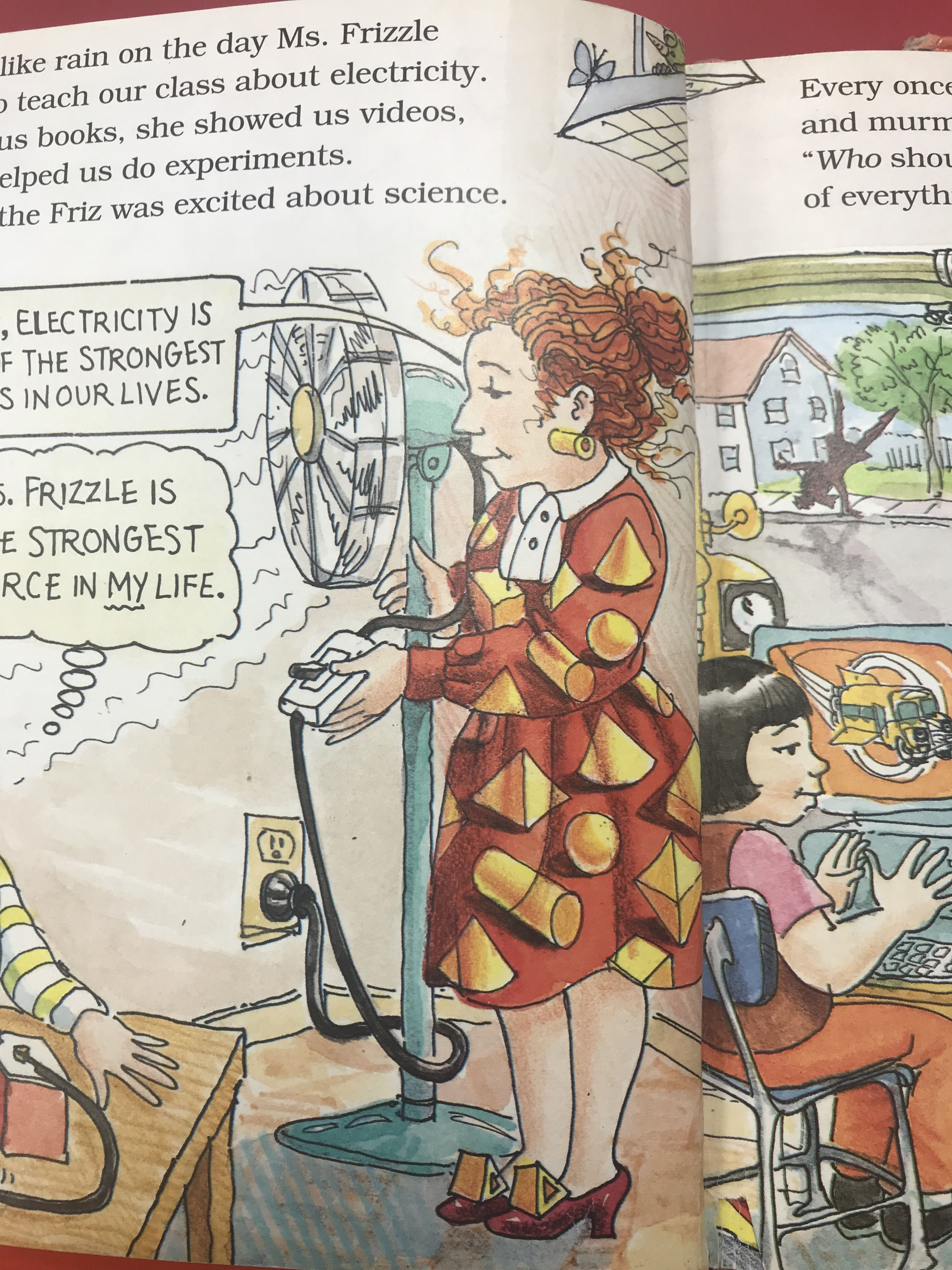 Pin By Sammie Beene On Miss Frizzle