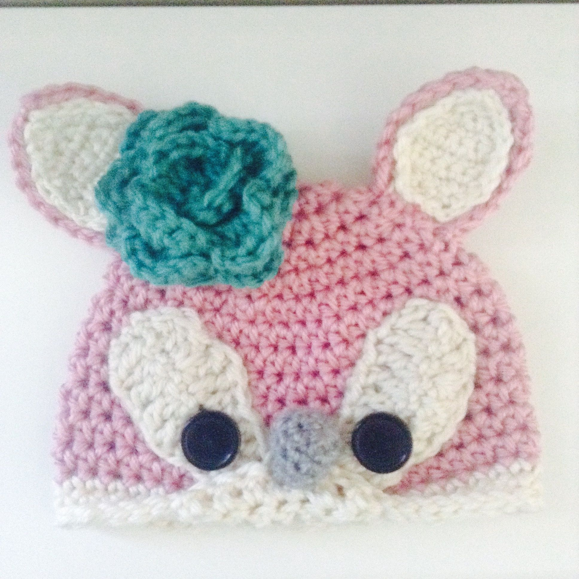 Valerie O\'Crochet sweet newborn fawn hat. | Valerie O\'Crochet ...