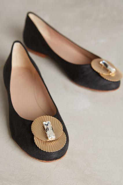 Monica Garcia Deco Ballet Flats #anthrofave